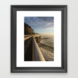 Railing Framed Art Print