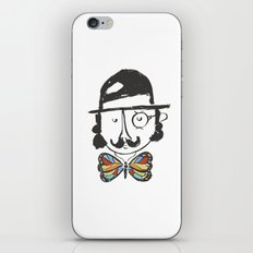 a classy butterfly collector iPhone & iPod Skin