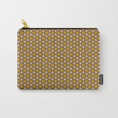 orange (pattern) Carry-All Pouch