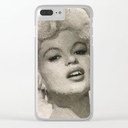 Jayne Mansfield Clear iPhone Case