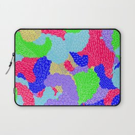 Multicolor Paisleys  Laptop Sleeve