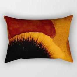 abstract 79 orange Rectangular Pillow