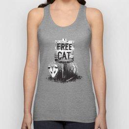 Free cat Unisex Tank Top