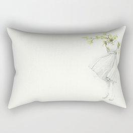 El Silencio Rectangular Pillow