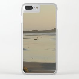 Light reflected on the sea Clear iPhone Case