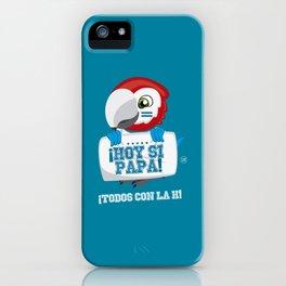 Hoy Si Papa iPhone Case