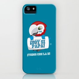 Hoy Si Papa iPhone Case