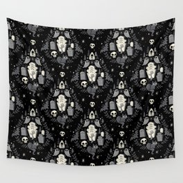 Graveyard Ghouls Wall Tapestry