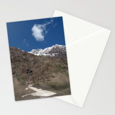Mountains in Lahaul Valley Stationery Cards