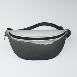 Mountains in the morning mist Fanny Pack
