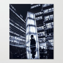 two sides of the same story Canvas Print