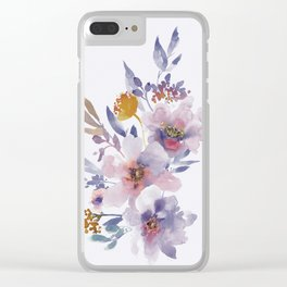 Flowers 8 Clear iPhone Case