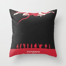 Futurama - TBWABB Throw Pillow
