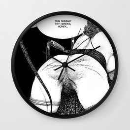 asc 737 - L'audition d'Armand (When Madame wears the panties she takes it Wall Clock