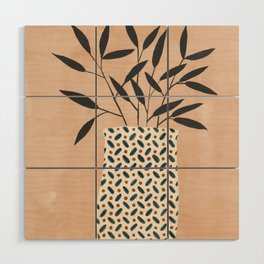 Odin Vase Wood Wall Art
