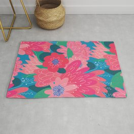 bunch of buds Rug
