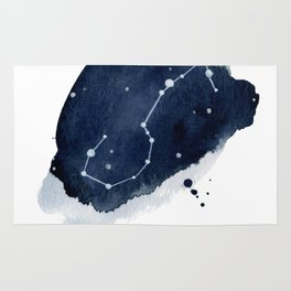 Zodiac Star Constellation - Scorpio Rug