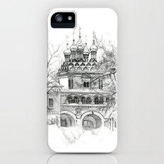 Winter Joseph-Volokolamsk Monastery SK031 Slim Case iPhone (5, 5s)