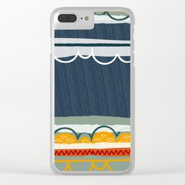 april showers Clear iPhone Case