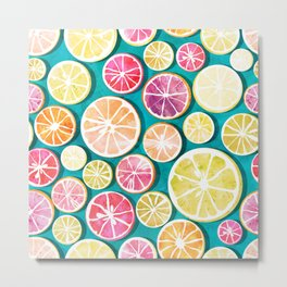 Citrus bath Metal Print