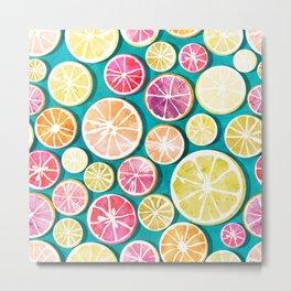 Citrus bath Metal Print