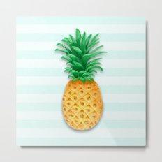Pineapple ! Metal Print