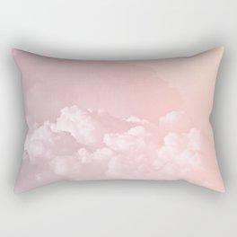 COTTON CANDY PASTEL CLOUDS by Monika Strigel Rectangular Pillow