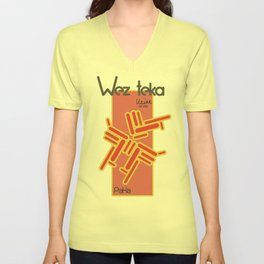 Paka - Wezteka Union - 1 of 3 Unisex V-Neck