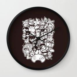 Mega 16 Bit Wall Clock