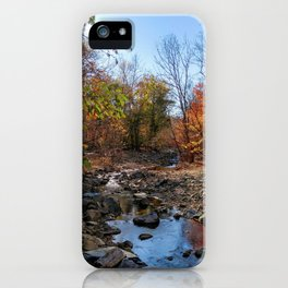 Follow the stream of life iPhone Case