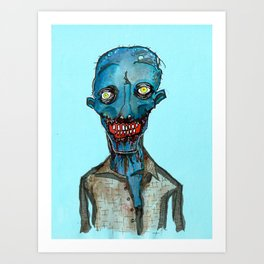 Blue Period Art Print