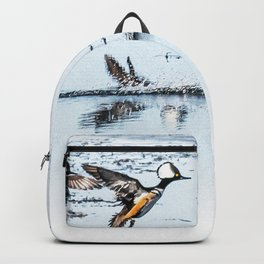 Hooded Megansers Landing Backpack