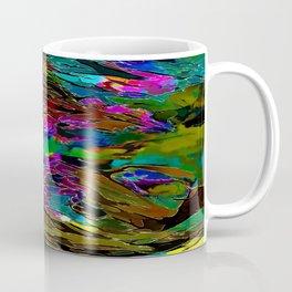 Evening Pond Rhapsody - Digital painting Coffee Mug
