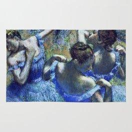 Edgar Degas - Blue Dancers Rug