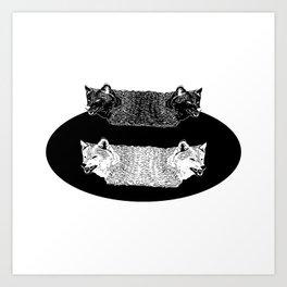 Lobas (Wolfs) Art Print