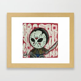 Baby Jason Framed Art Print