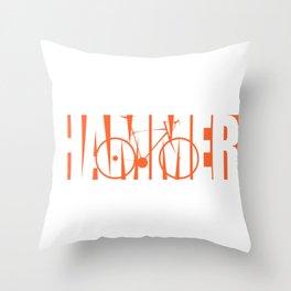 Hammer Throw Pillow