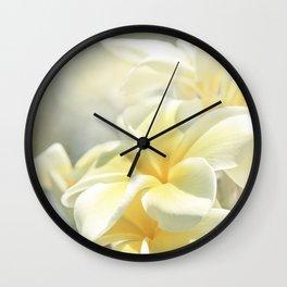 Na Lei Pua Melia Aloha e ko Lele Wall Clock