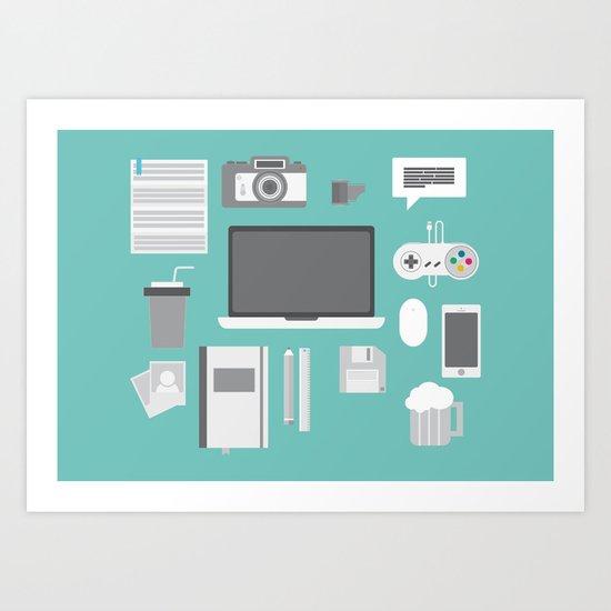 Designer tools Art Print