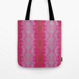 Pink Symmetry Tote Bag