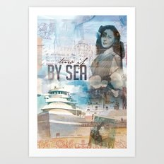 By Sea Art Print