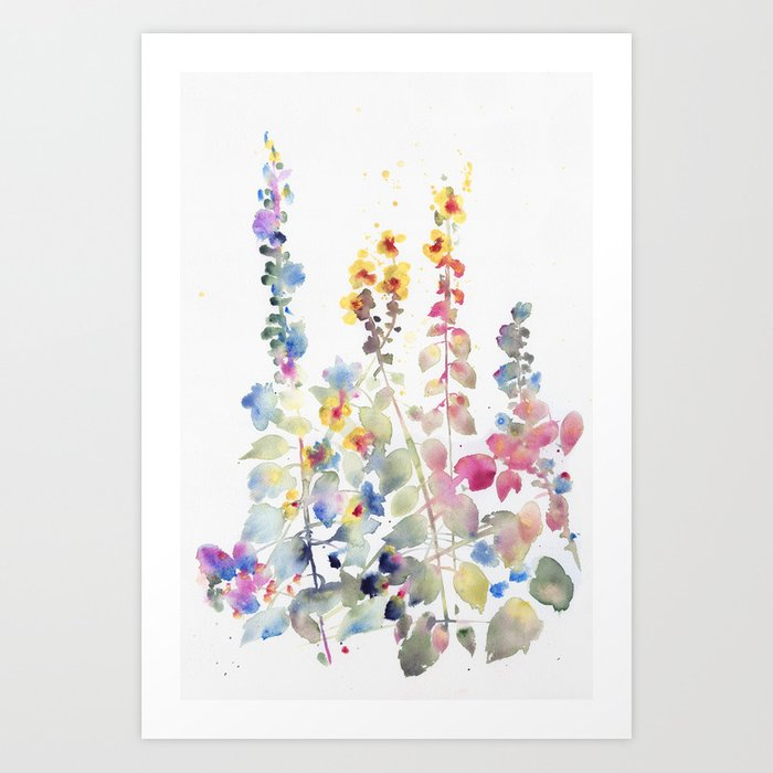 Discover the motif FIORI II by Agnes Cecile  as a print at TOPPOSTER