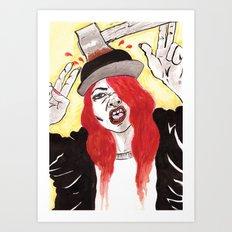 Halloween Costume Art Print