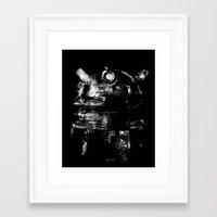 dalek Framed Art Prints featuring Dalek by zerobriant