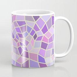 Violet Mosaic Tiles Coffee Mug