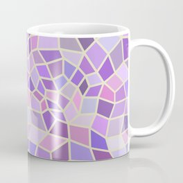 Violet Mosaic Tiles Coffee Mug