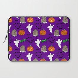 Spooky halloween print Laptop Sleeve