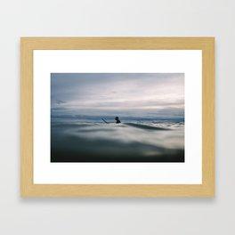 ocean Surf IV Framed Art Print