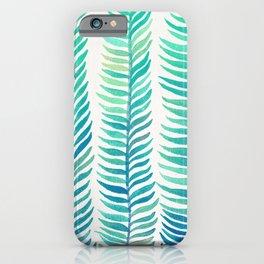 Seafoam Seaweed iPhone Case