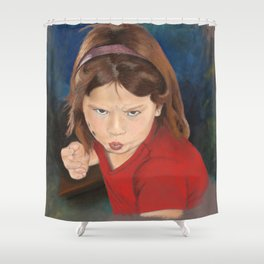 Take That Back Shower Curtain
